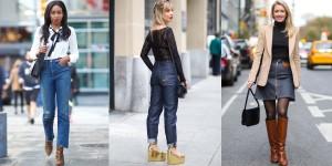 Merginos su džinsais