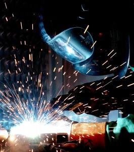 Metalo tekinimo darbai